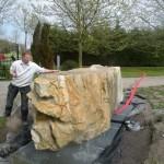 waterornament van 11 ton